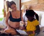 Giovanna Ewbank com a filha Titi | Reprodução