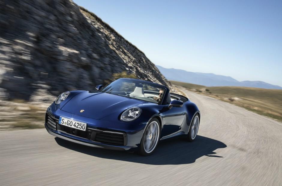 Novo Porsche 911 Cabriolet fica mais rápido... na abertura da capota ... 557db9e249