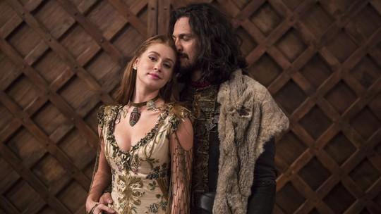 Casamento de Afonsália encerra último capítulo de 'Deus Salve o Rei' e emociona equipe