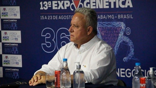 Rivaldo Borges, presidente da ABCZ anuncia a realização da Expogenética 100% virtual (Foto: Divulgação)