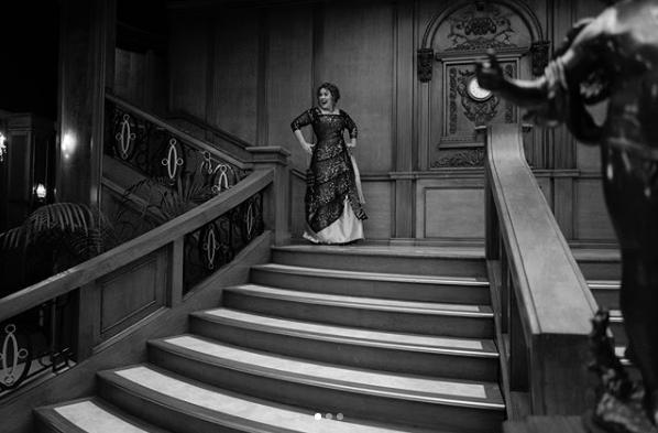 Adele comemora seus 30 anos com festa temática de Titanic (Foto: Reprodução/Instagram)