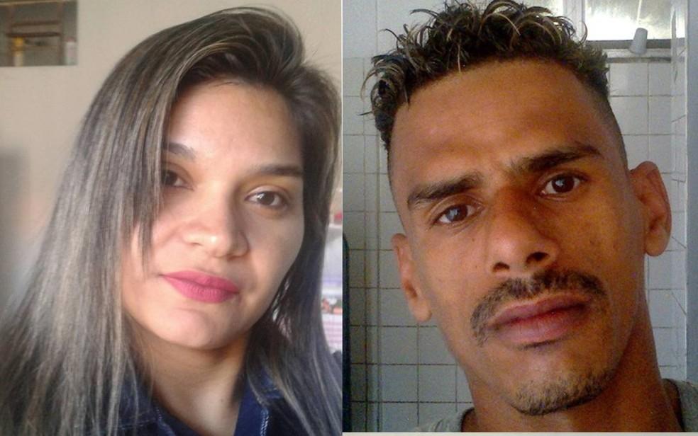 Geane Silva de Oliveira é encontrada morta em quarto de hotel; Marcos Lima dos Santos é suspeito (Foto: Facebook/ Reprodução)