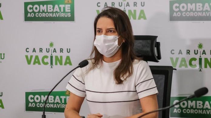 Prefeita Raquel Lyra comunica medidas para conter Covid-19 em Caruaru |  Caruaru e Região | G1