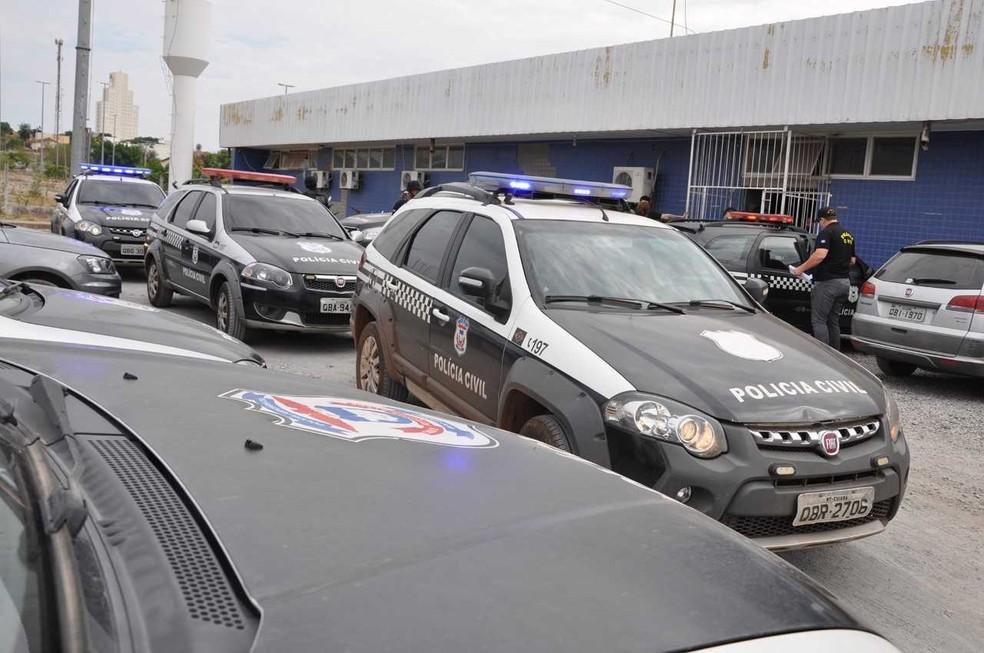 Mais de 3 mil policiais civis e militares devem compar as equipes de segurança nas eleições — Foto: Polícia Civil-MT/Assessoria
