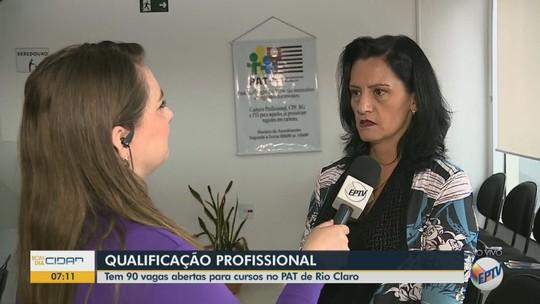 Prefeitura de Rio Claro oferece 90 vagas em cursos de qualificação profissional gratuitos
