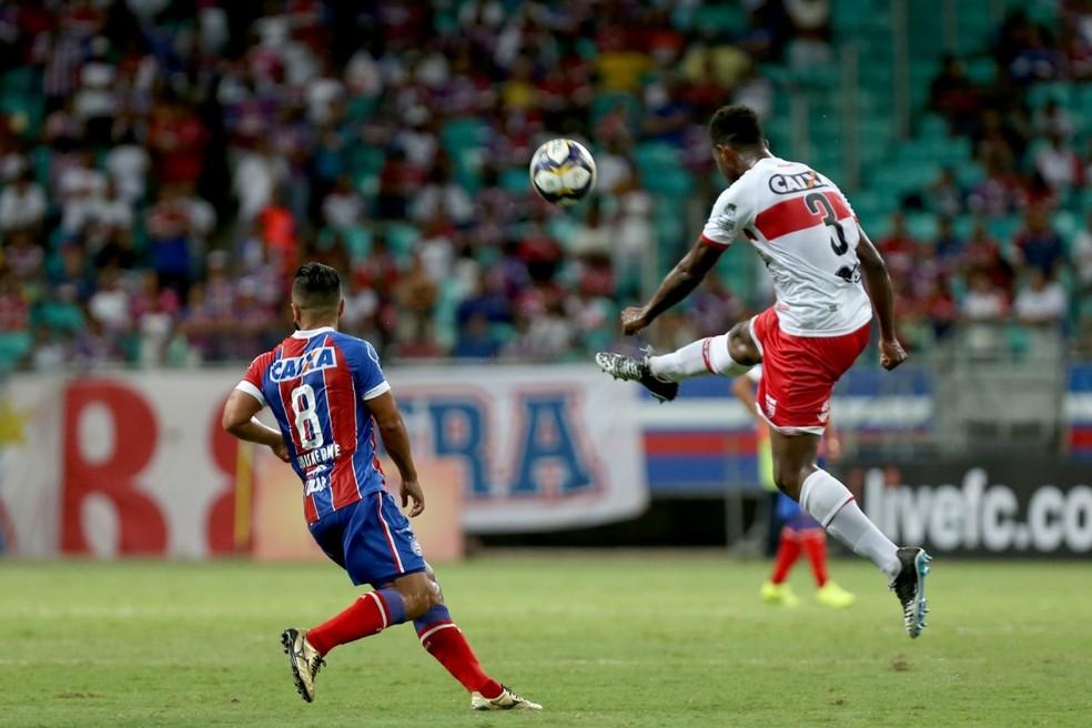 Bahia e CRB se enfrentam pela terceira fase da Copa do Brasil — Foto: Felipe Oliveira/EC Bahia