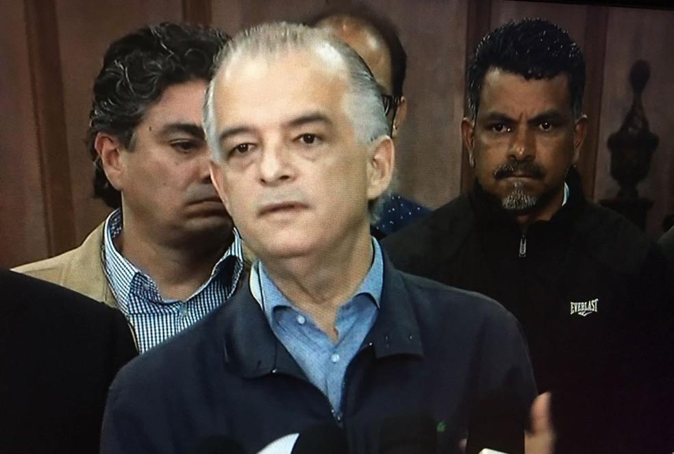 Márcio França (PSB), candidato ao governo de São Paulo (Foto: Reprodução/TV Globo)