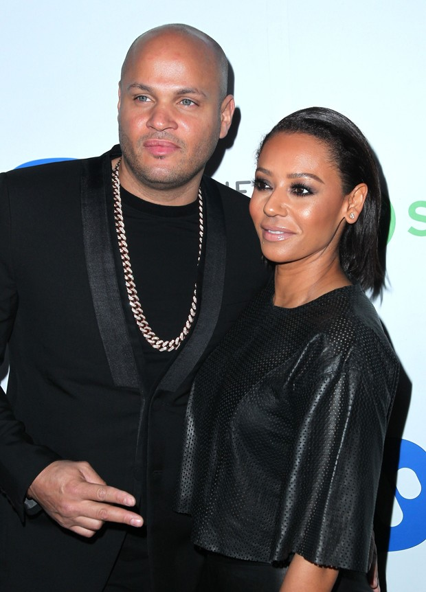 Stephen Belafonte e Mel B (Foto: Getty Images)