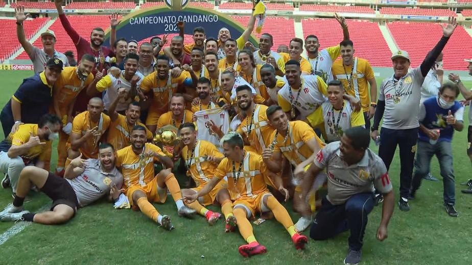 Com campanha invicta, Brasiliense derrota o Ceilândia por 1 a 0 e é decacampeão candango