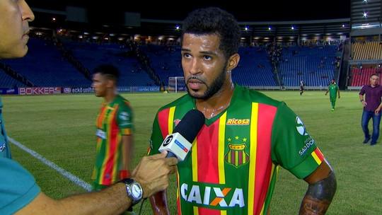 Após empate em casa, Alvinho reclama de pouco tempo em campo pelo Sampaio