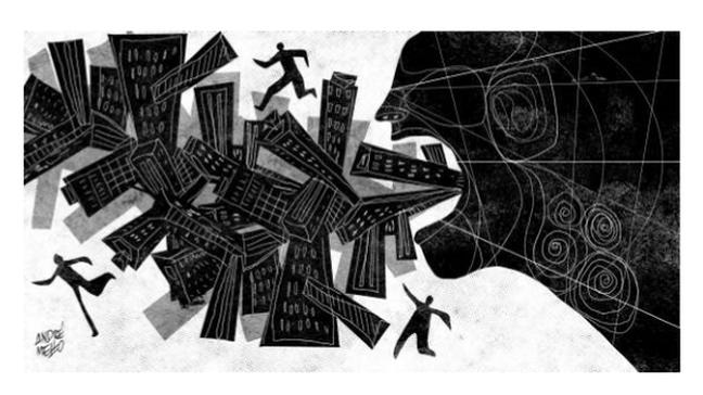 Rio de Janeiro, favelas, violência (Foto: Arte: André Mello / O Globo)