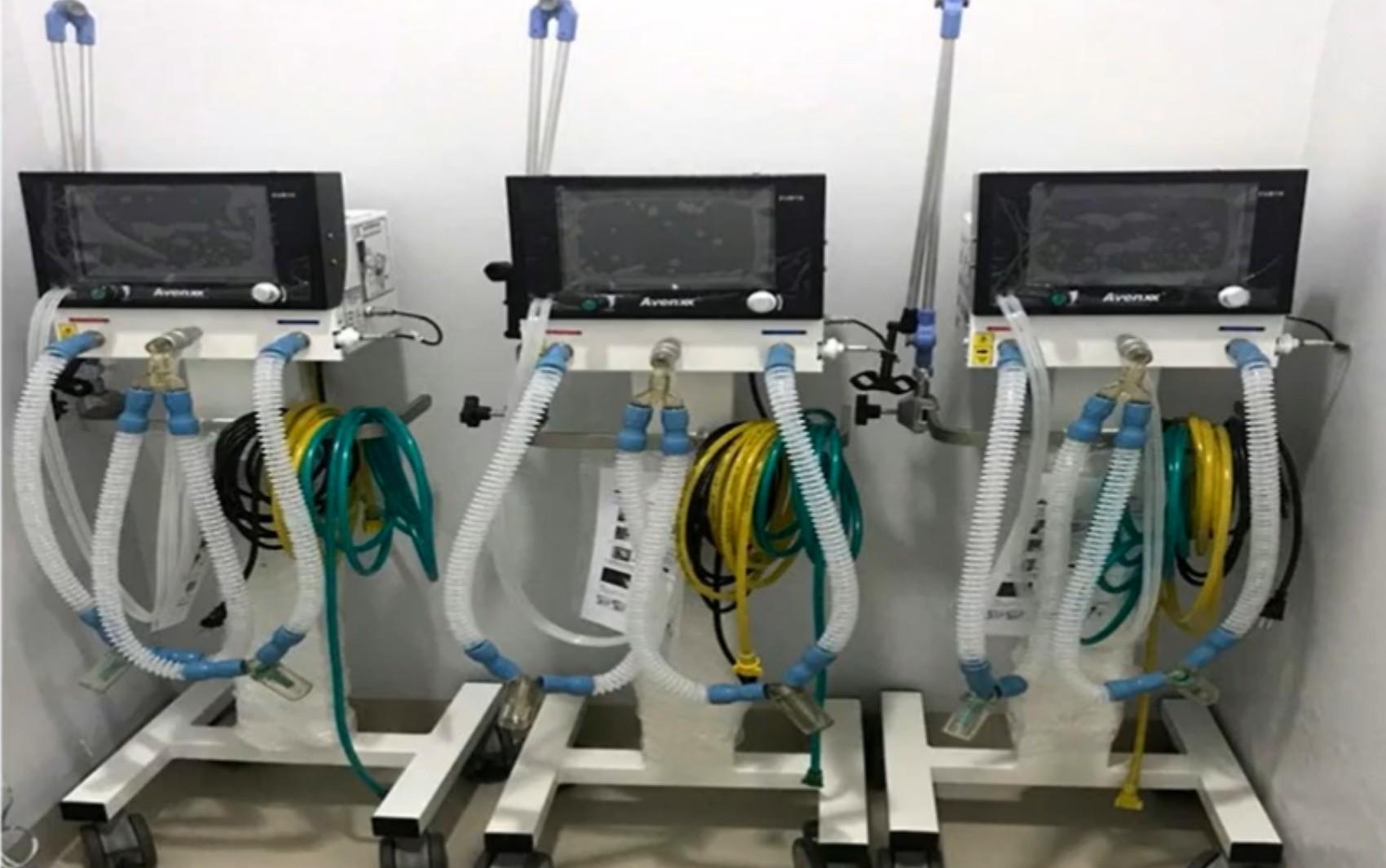 Goiás tem cidades com respiradores que nem foram instalados e outra que precisa alugar o aparelho