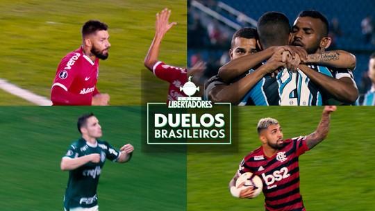 O melhor no mata-mata, o rei dos pênaltis... veja raio-x histórico de duelos brasileiros na Libertadores