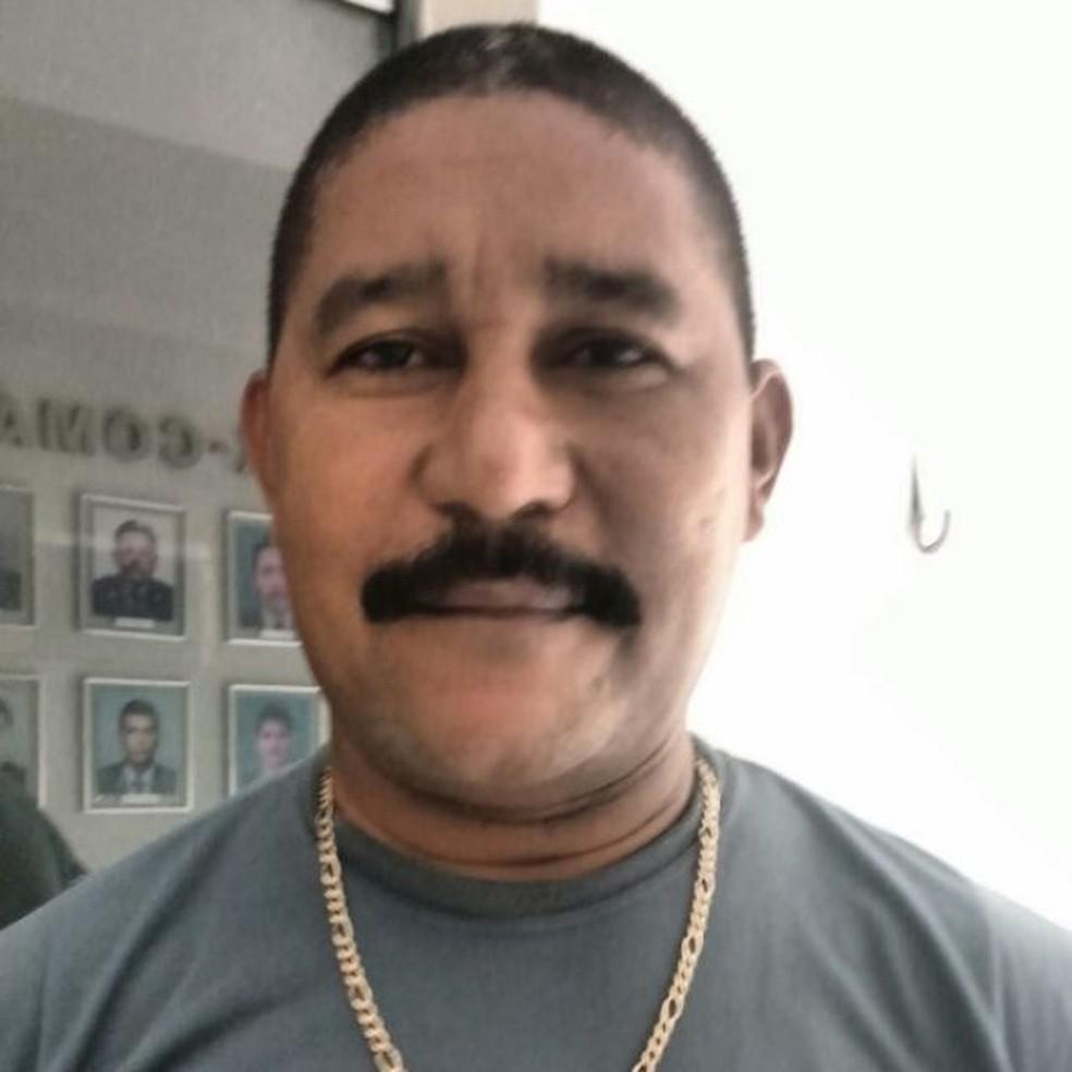 O sargento Ailton de Lira, da PM do Rio Grande do Norte, foi morto a tiros em São Gonçalo do Amarante (Foto: Divulgação/PM)
