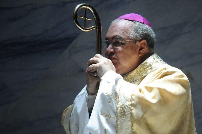 Cardeal e arcebispo do Rio de Janeiro Dom Orani Tempesta