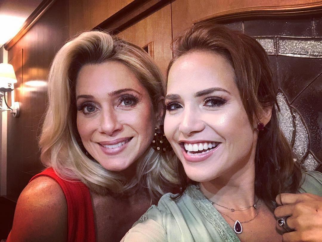 Letícia Spiller e Letícia Collin (Foto: Reprodução Instagram)