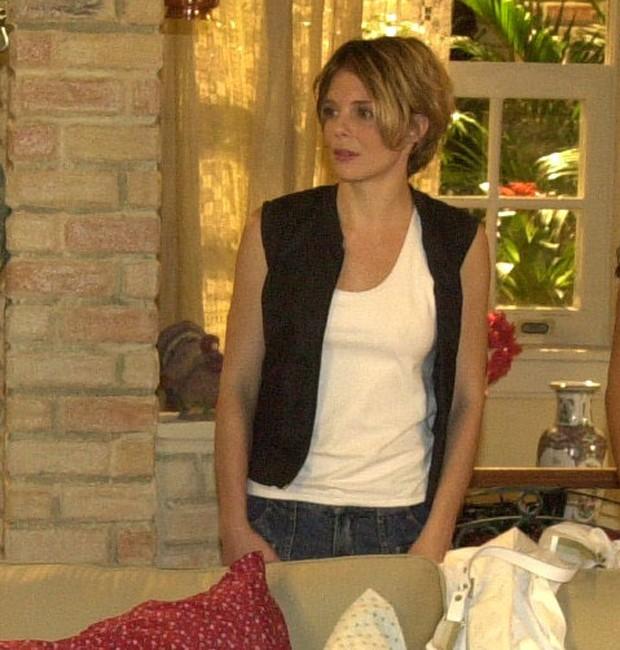 Mylla Christie como Eleonora, papel marcante da novela Senhora do Destino (Foto: Renato Rocha Miranda/TV Globo)