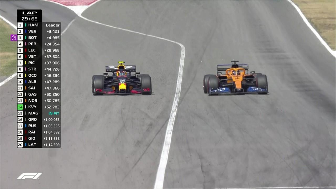 GP da Espanha: Sainz passando o Albon
