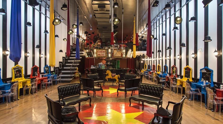 Com duas unidades em São Paulo, o Circus Hair faz mais de 9 mil atendimentos por mês (Foto: Divulgação)