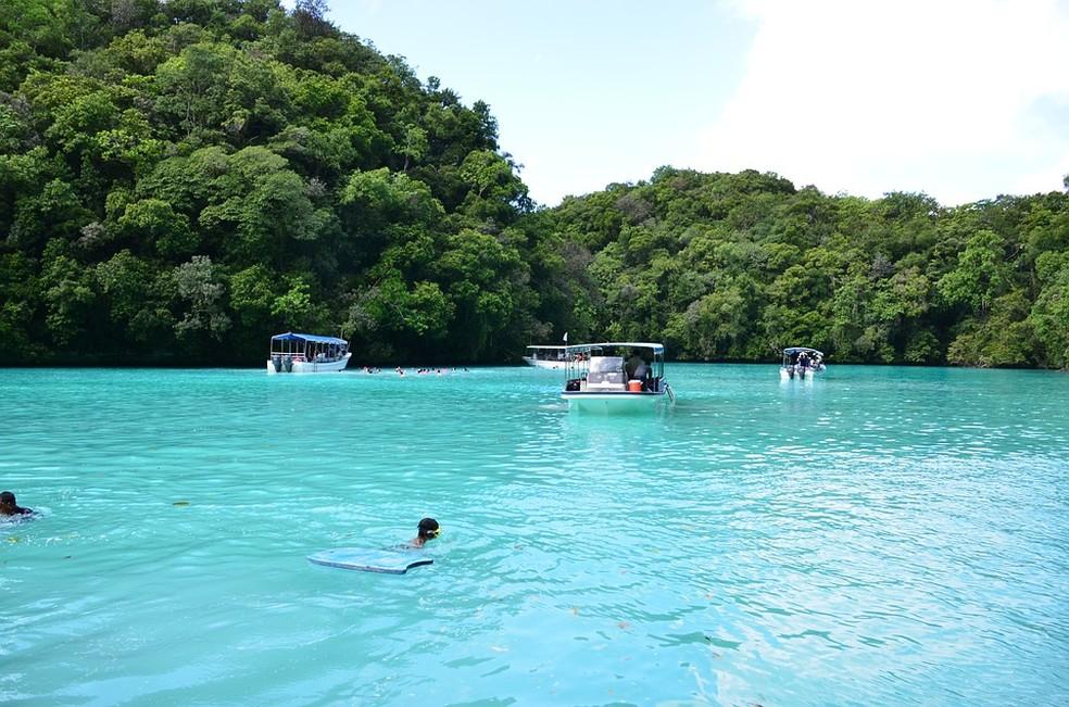 Quem compra garrafas de plástico com menos de 940 mL em Palau precisa Quem compra esses produtos precisa pagar uma taxa de 10 centavos de dólar (cerca de R$ 0,37).  — Foto: Pixabay