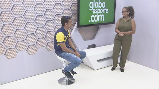Bate-papo GE: atacante Souza, do Rondoniense, fala de preparação para enfrentar o Guajará