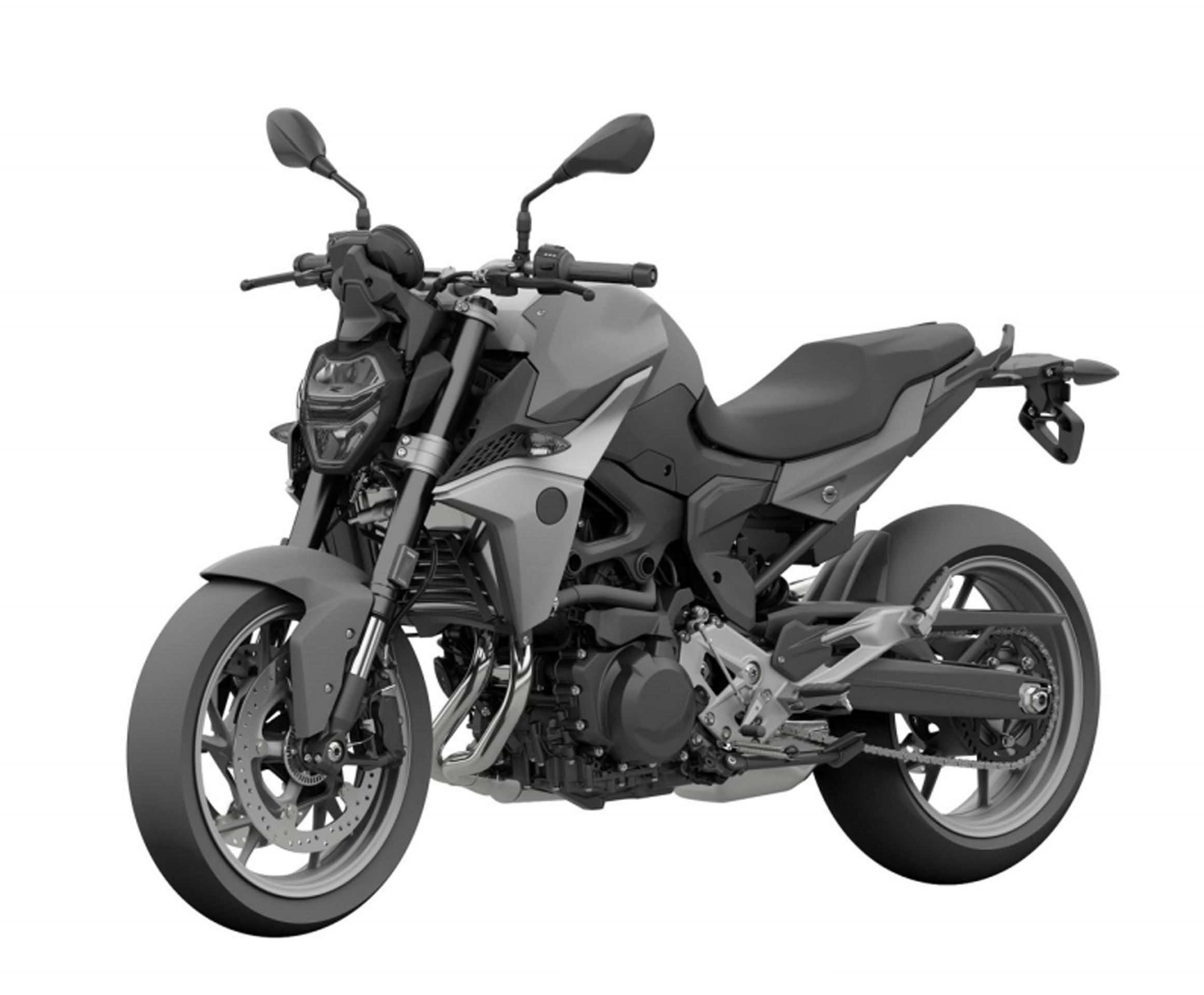 Moto inédita da BMW é revelada em registro de patente no Brasil