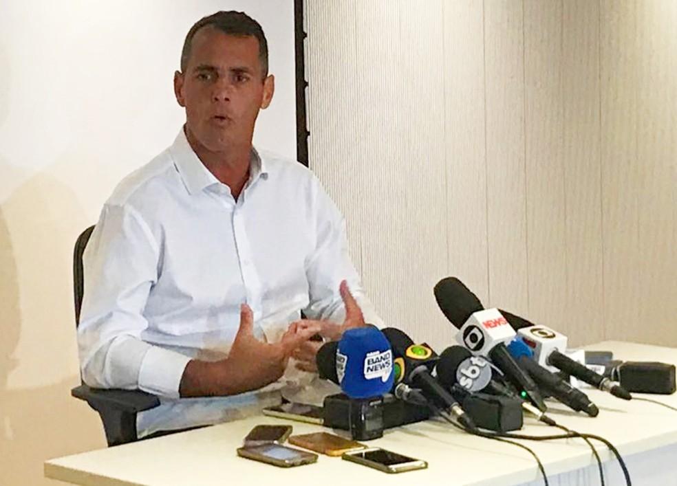 Vereador do Rio Marcello Siciliano (Foto: Reprodução / TV Globo)
