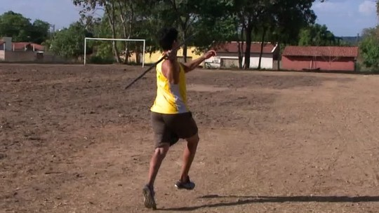 """Campeão """"sem querer"""" no dardo, atleta de 18 anos faz estreia no Troféu Brasil"""