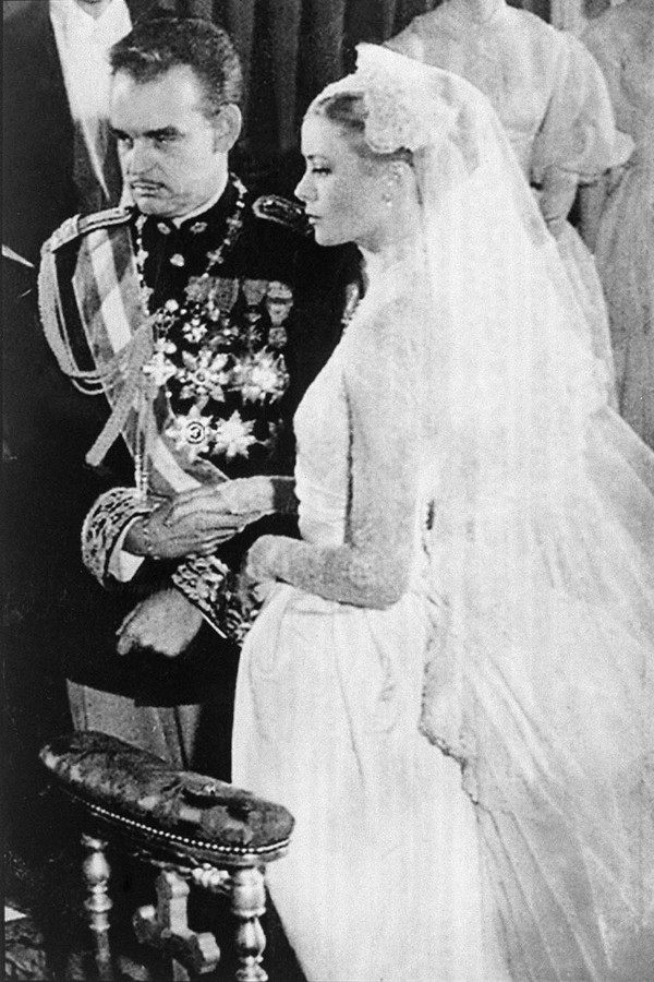 Casamento de Grace Kelly (Foto: Getty Images)