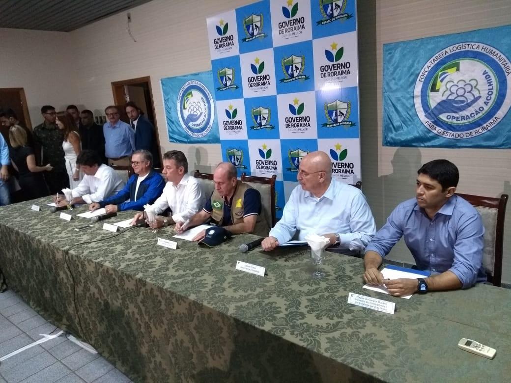 Ação de acolhida a venezuelanos em RR será mantida por mais 12 meses, diz ministro da Defesa
