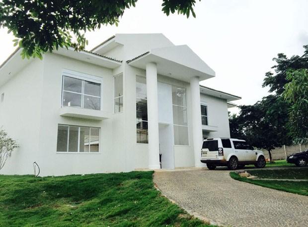 Casa nova de Joelma em Goiânia  (Foto: Reprodução)