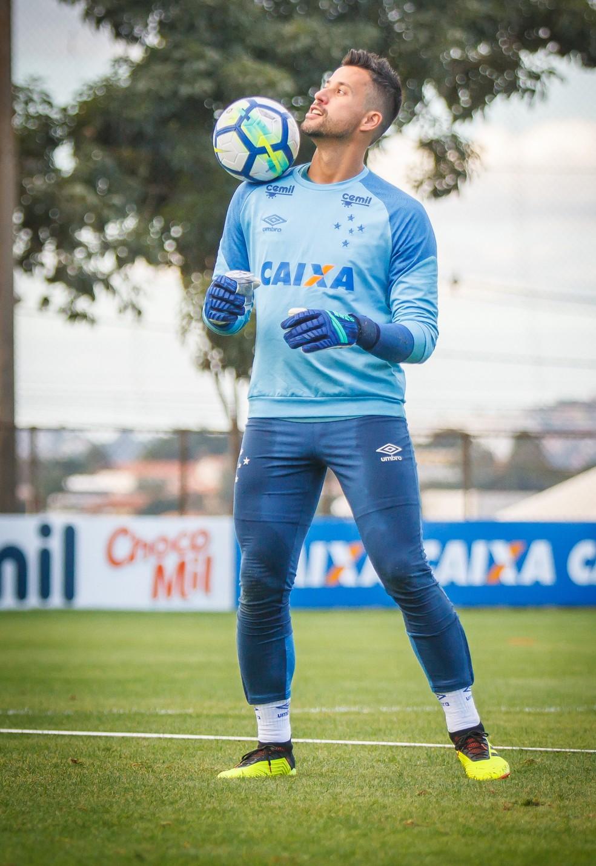 """Fábio, sobre desfalques no ataque: """"Desfavorece o grupo"""" (Foto: Vinnicius Silva/Cruzeiro)"""