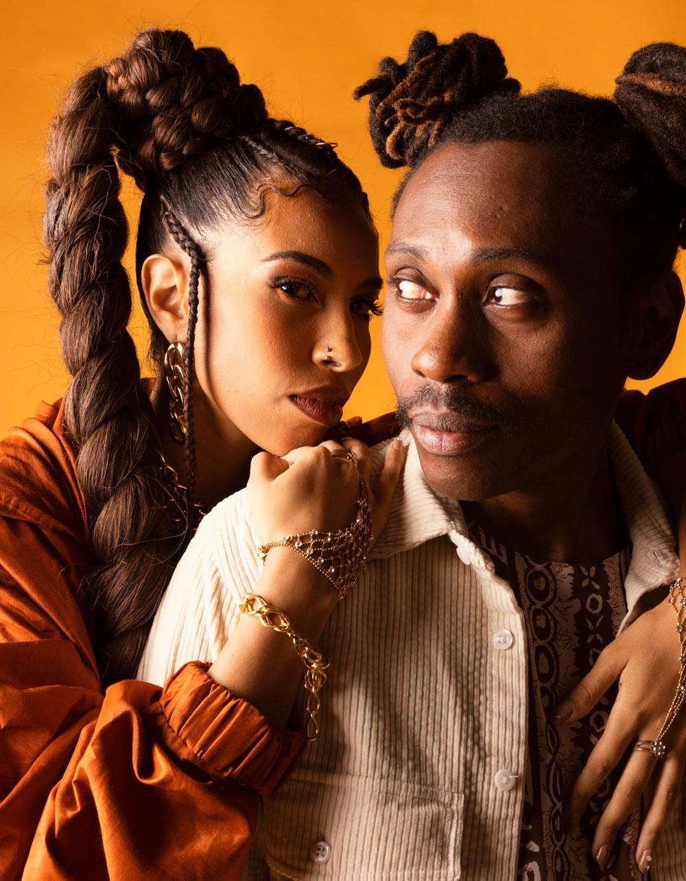 Rincon Sapiência assina a produção musical de EP em que Indy Naíse canta com Drik Barbosa e D'Ogum