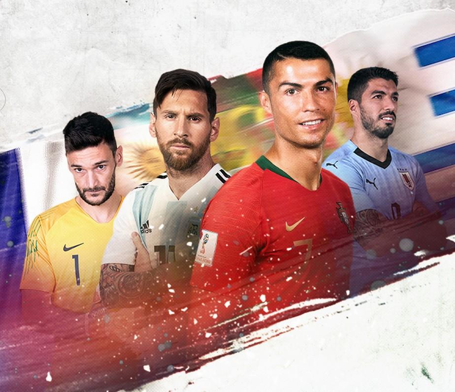 Dia #17: oitavas começam e podem marcar despedida da Copa de Messi, CR7, Suárez...