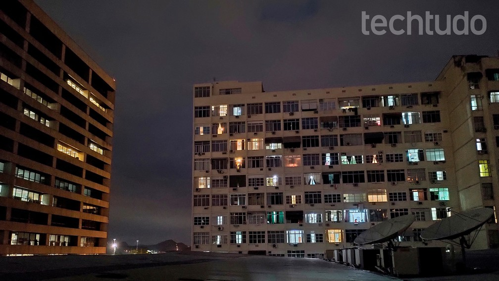 Foto tirada com o modo Night vision do Motorola One Hyper — Foto: Rubens Achilles/TechTudo