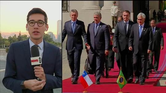 Bolsonaro terá encontro fechado hoje com presidente chileno