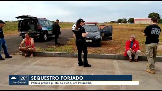 Piloto de avião de Paranaíba forjou o próprio sequestro, afirma polícia de MS