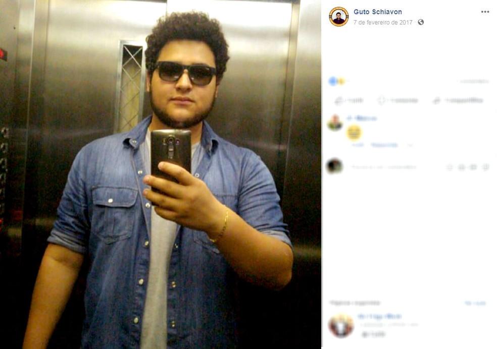 Luís Augusto Schiavon Ramos tinha 24 anos — Foto: Facebook/Reprodução