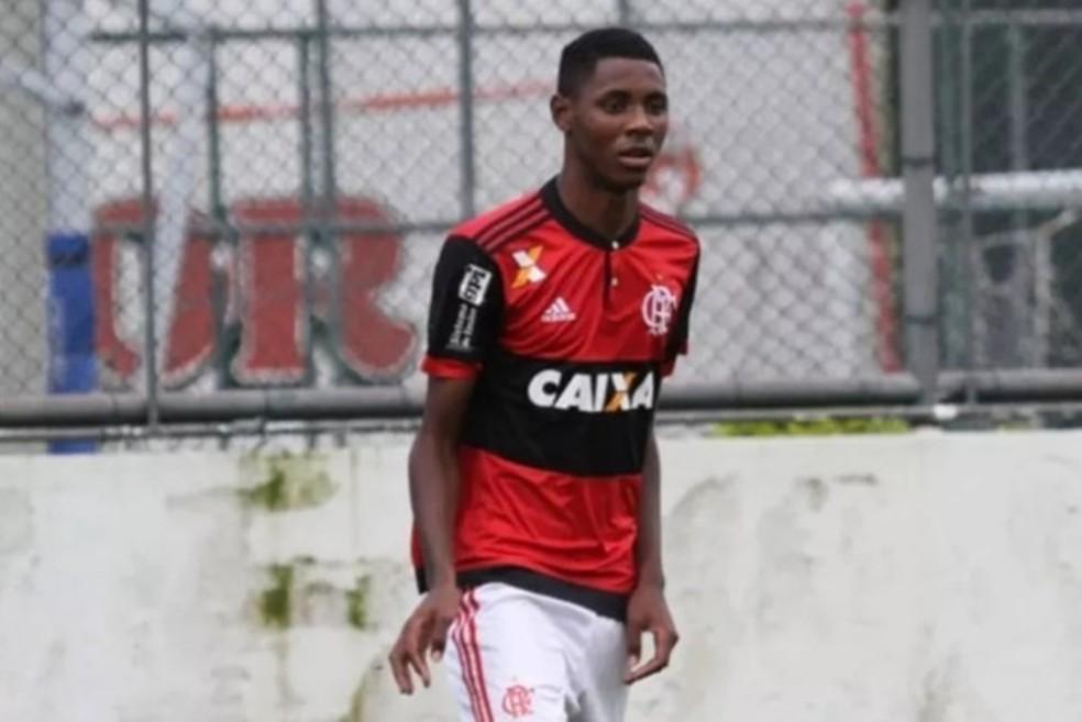 Jonathan Ventura é um dos feridos no incêndio do CT do Flamengo — Foto: Reprodução
