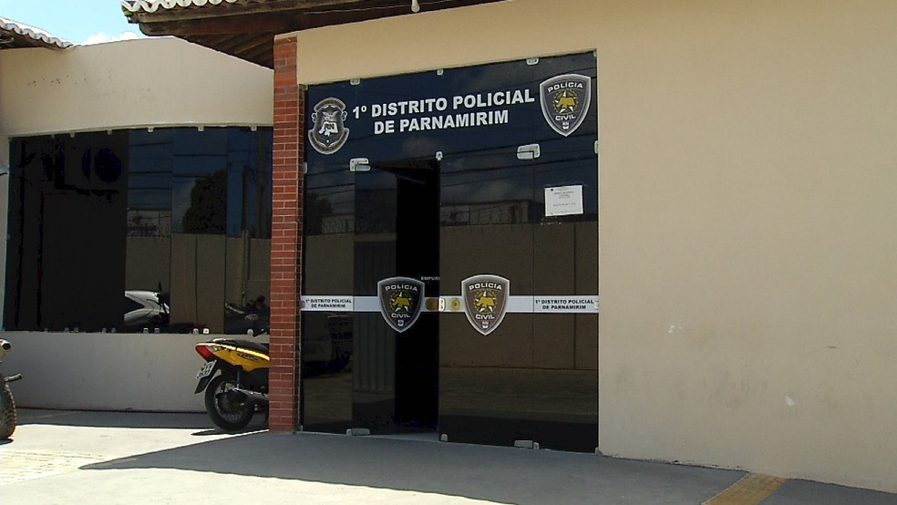 Caso é investigado pela 1ª Delegacia de Polícia de Parnamirim, na Grande Natal — Foto: Reprodução/Inter TV Cabugi