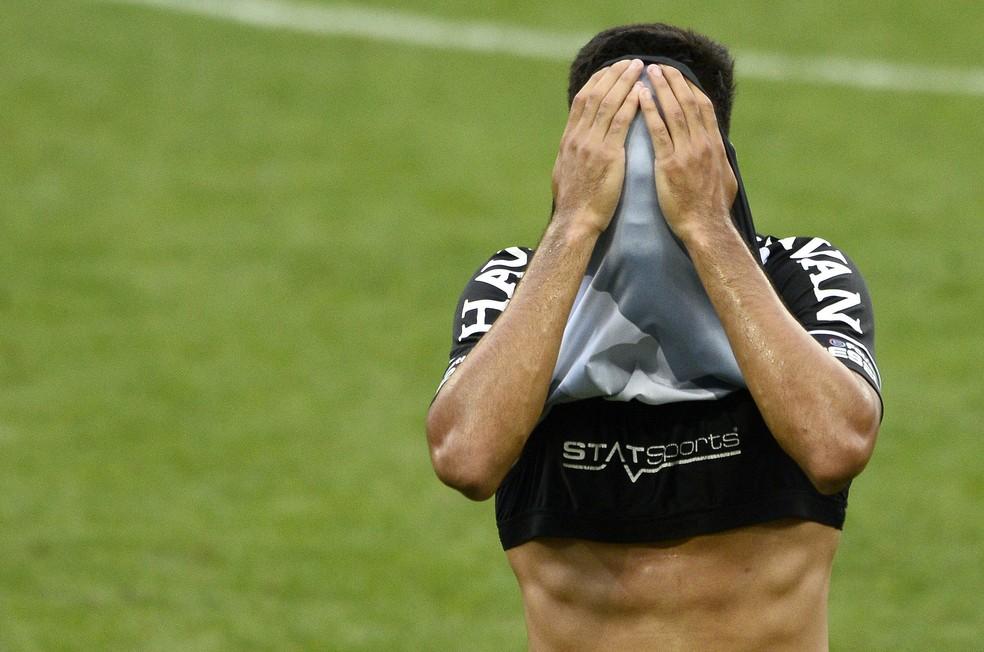Corinthians x Vasco — Foto: Marcos Ribolli