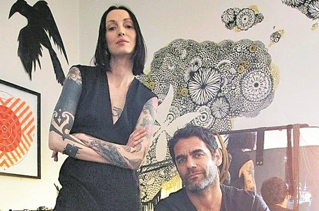 Marina Dias e Salvador Llobet (Foto: Thais Taverna)