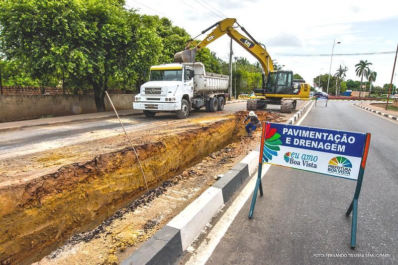 Prefeitura construiu mais de 150 km de drenagem em Boa Vista