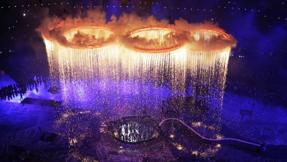 Abertura Jogos Olímpicos Londres 2012 (Foto: Hollywood Reporter )