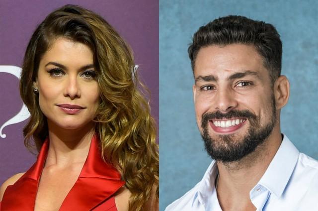 Alinne Moraes e Cauã Reymond, que foram casados na vida real, farão par romântico em nova novela