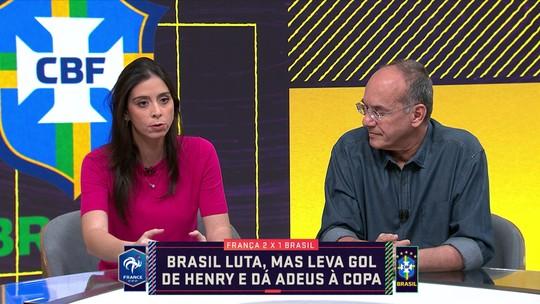 Nadja Mauad fala sobre a eliminação da Seleção na Copa do Mundo
