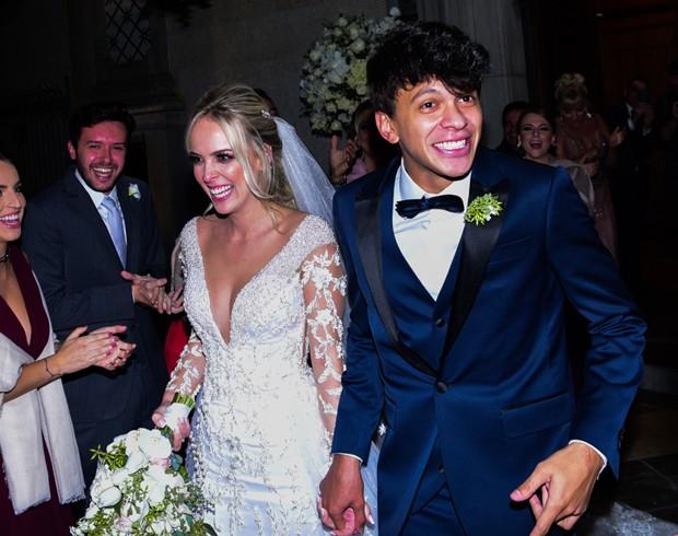 Casamento de Tata Estaniecki e Júlio Cocielo (Foto: Leo Franco / Agnews)