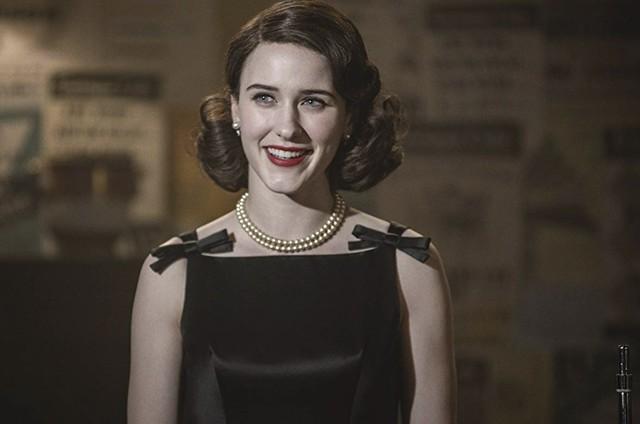 Rachel Brosnahan em 'The marvelous Mrs. Maisel' (Foto: Divulgação)