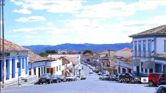 Ruas estreitas da histórica Santa Luzia guardam muitas memórias