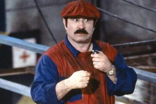Bob Hoskins em Super Mario Bros. (Foto: Reprodução)